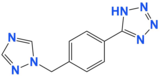 5-(4-((1H-1,2,4-triazol-1-yl)methyl)phenyl)-1H-tetrazole