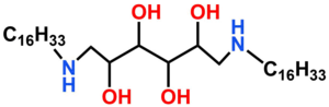 (2R,3R,4R,5S)-1,6-bis(hexadecylamino)hexane-2,3,4,5-tetraol